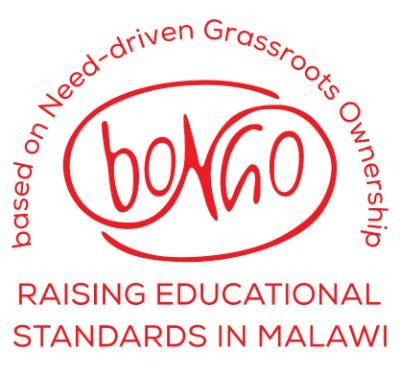bongo white logo with title