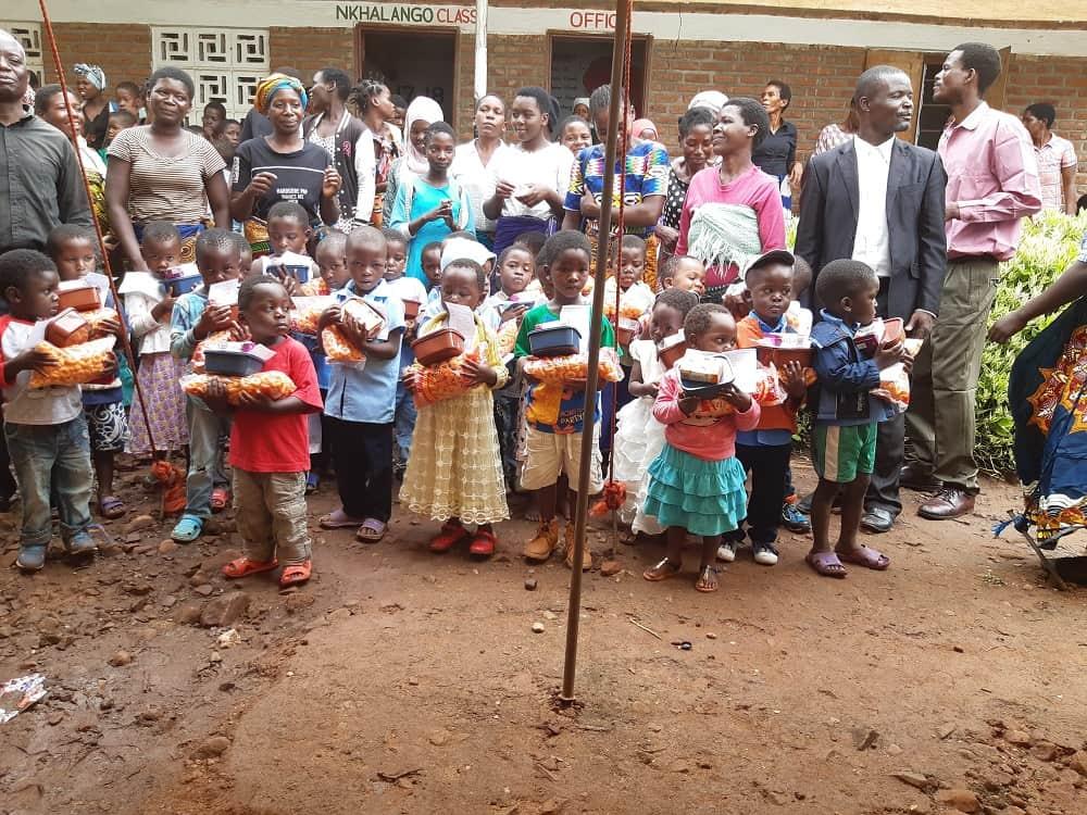Graduation ceremony at Mango Model Childcare Centre