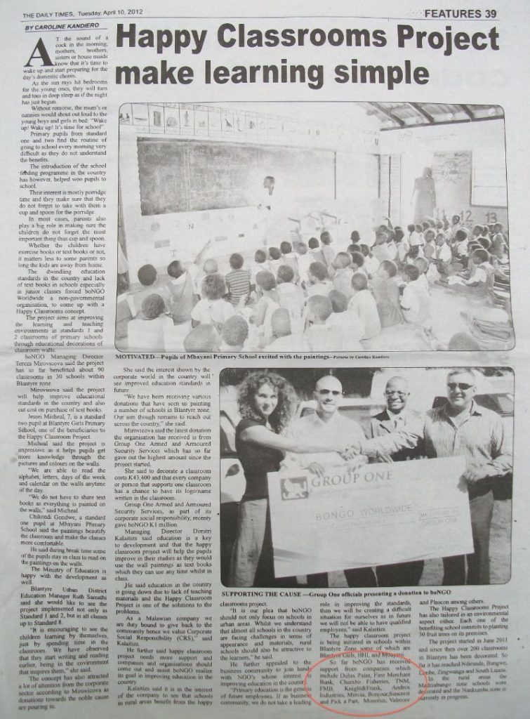 happy classrooms project news